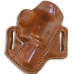 Minute Man revolver holster, brown