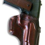 Ritchie Lightning holster, mahogany