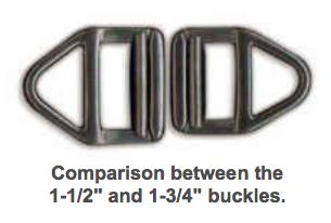 Wilderness belt buckle comparison